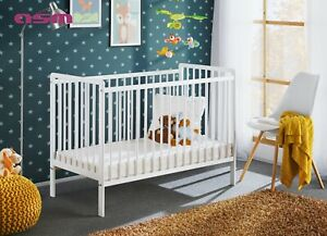 Babybett Kinderbett Gitterbett Beistellbett Jugendbett + Matratze CYPI II 120x60