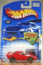 2002 Hot Wheels #37 First Editions 25/42 Lancia Stratos Red w/Tampo w/GoldPr5Sp