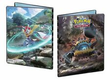 SUN & MOON 4 (CRIMSON INVASION) POKEMON 9-pocket  portfolio album- 90-180 Cards