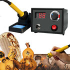 110V Wood Burning Pen Tool Multifunction Craft Pyrography Machine Burner Set Kit