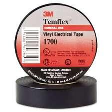 "3M Temflex 1700 Vinyl Electrical Tape, 3/4"" x 60ft 054007697640 - Free Shipping"