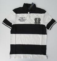 NEW Ralph Lauren S S Classic Fit Rugby Stripe Patch Mesh Polo Shirt S M L XL bfaa4e52afa