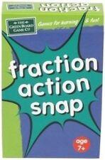 Juego de tarjetas de Snap fracción de Acción para los niños-de aritmética elemental Matemáticas Recursos g13