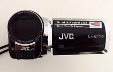 Videocamera digitale LCD professionale con doppio slot JVC Everio GZ-MS120 nera