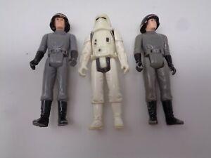 Lot Star Wars Kenner 1977 HK 1980 LFL (2x) Death Squad Commander / Snowtrooper