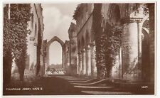 Yorkshire; Fountains Abbey, Nave East RP PPC, Unposted, By Photochrom