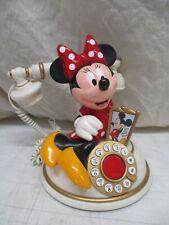 Vintage Walt Disney Minnie Mouse Desk Telephone Works Great Mickey Phone