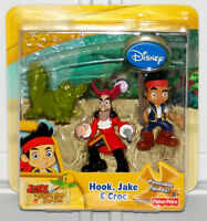 Fisher-Price Disney Jake and The Neverland Pirates Hook Croc Poseable Figure Set