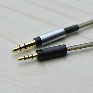 Silver Plated Audio Cable For Sennheiser MOMENTUM 2.0/3 Wireless headphones