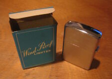 Vintage Reliance Windproof Lighter in Original Box, Never Used, Made in Japan