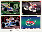 1994 Adelaide Grand Prix Trading Cards Base Full Set (110 Cards)--Rare, MINT
