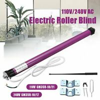 GM35R Electric Roller Blind / Shade Tubular Shutter Motor & Remote Control