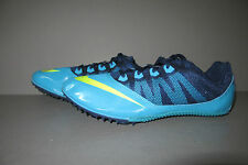 Nike Zoom Rival S 7 Track Field Spikes Cleats Gamma Blue/Volt 616313-474 Sz 10.5