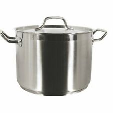 Thunder Group 8 QT 18/8 STAINLESS STOCK POT W/ LID SLSPS008 Stock Pot NEW