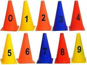 Marker Cones for Soccer Cricket Track & Field Sports and Training Multicolor @US