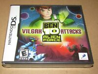 Ben 10: Alien Force - Vilgax Attacks (Nintendo DS) Brand New / Fast Shipping
