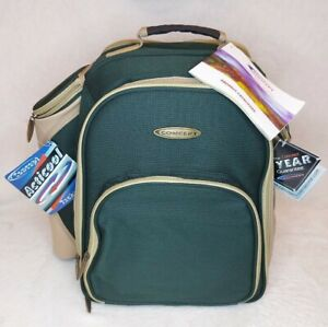 Concept International 2 Person Picnic Backpack Set B.N.I.B. IMMACULATE 24 PIECES