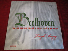 LP HENRYK SZERYNG Beethoven Concert Pentru Viora Si Orchestra in Re Major CONTA