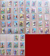 FIGURINE NANNINA - WESTERN Lotto di 50 figurine originali - RARE - OTTIME!