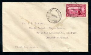 Trinidad & Tobago - 1941 KGVI 5c First Day Cover
