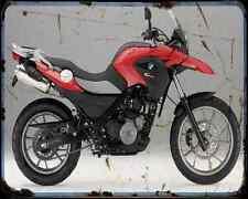 Bmw G 650Gs 11 6 A4 Metal Sign Motorbike Vintage Aged