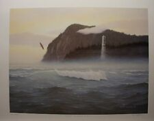 "Chris MACCLURE LTD art print MINT "" Spirit of Haida Gwaii "" AP Eagle Totem"