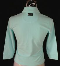 BNWT WOMEN'S AUTHENTIC OAKLEY ABSORB STRETCH L/S POLO SHIRT XSMALL NEW BLUE
