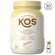 KOS Organic Plant Based Protein Powder ? Raw Organic Vegan Protein Blend, 2.5