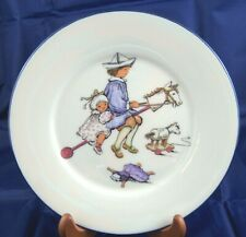 Lenox Special China Plate Children Playing