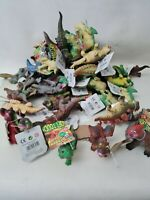 TOY DINOSAUR MIXED X 18 SOFT RUBBER TOYS 3+yrs New Gift Party BAG
