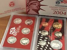 2004 US Silver Proof Set