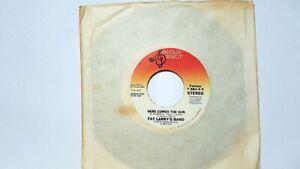 Fat Larry's Band – Here Comes The Sun  PROMO SAMPLE 45T /EX++ Fantasy 881