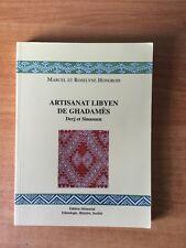 ARTISANAT LIBYEN DE GHADAMES Derj et Sinaouen