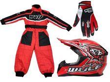 Pantalones de motocross color principal rojo