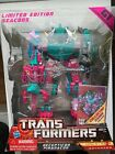 Transformers G1 BBTS Piranacon Seacons Re-Issue Sealed Mint New 100% Complete