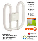 OSRAM 2D ENERGY SAVING CFL Square Butterfly Fluorescent 16w 28w 38w - 2 / 4 PIN