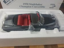 Danbury Mint 1/24 scale 1950 Studebaker Champion Convertible Steel Mist Metallic