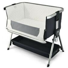 Baby Bassinet Crib Adjustable Newborn Sleeper Travel Portable Bed Bedside Sleep