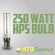 250 watt HPS High Pressure Sodium Grow Light bulb 250w