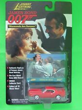 Johnny Lightning James Bond 007 Diamonds Are Forever Ford Mustang Collector Card