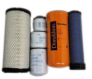 CFKIT Filter Kit for/Bobcat E55 w/V2403M-DI Eng. (Exc. S/N AJ1911001-up)