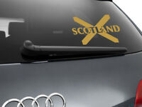 Scotland Flag Car Sticker Styling Decal Scottish Flag, Gold