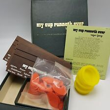My Cup Runneth Over Value Game 1970s 1971 Religious Progressive Playthings Inc