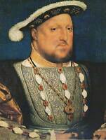 PAINTING ANTIQUE HOLBEIN JUNIOR KING HENRY TUDOR VIII ENGLAND ART PRINT LAH507B
