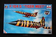 YB023 ESCI 1/72 maquette avion 9013 F-104 G Tiger Meet