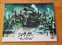 ZOBIE EXCLUSIVE 8x10 HAND SIGNED WALLY WINGERT THE VOICE OF RIDDLER  *