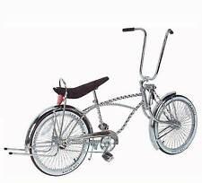 "20"" Lowrider Bike 72 Spokes Twisted Frame Bent Fork"