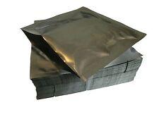 100 bolsas de Mylar pequeña de 15cm por 15cm aprobado por la FDA para almacenamiento de alimentos, 1