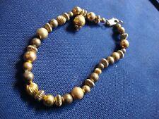 Silver Vermeil Chunky Bracelet Grandmas Estate 925 Sterling