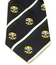 SBS Special Boat Service Classic Motif hand made in the UK Regimental tie